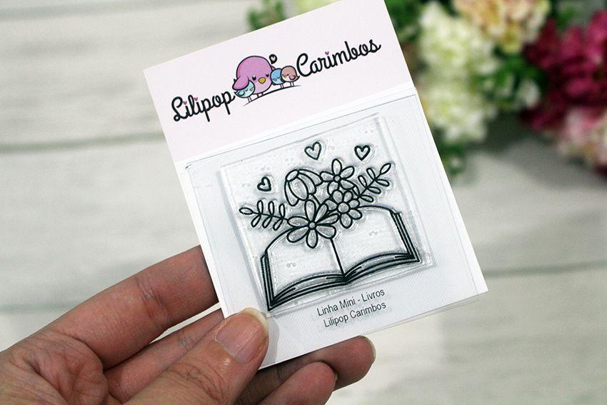 LINHA MINI - Livros (LILIPOP CARIMBOS)
