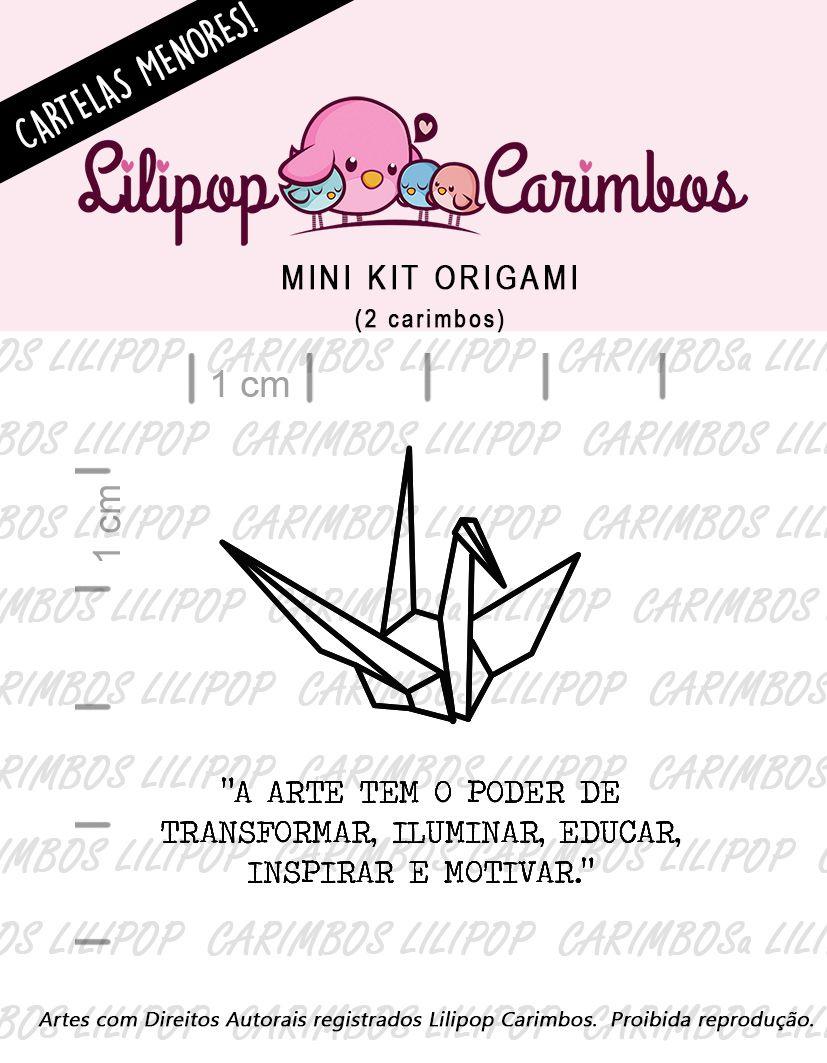 LINHA MINI -  Origami