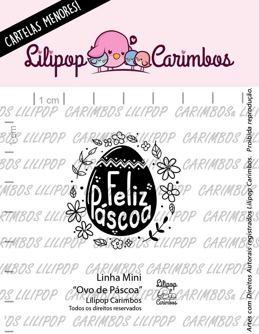 LINHA MINI - Ovo de Páscoa - Lilipop Carimbos