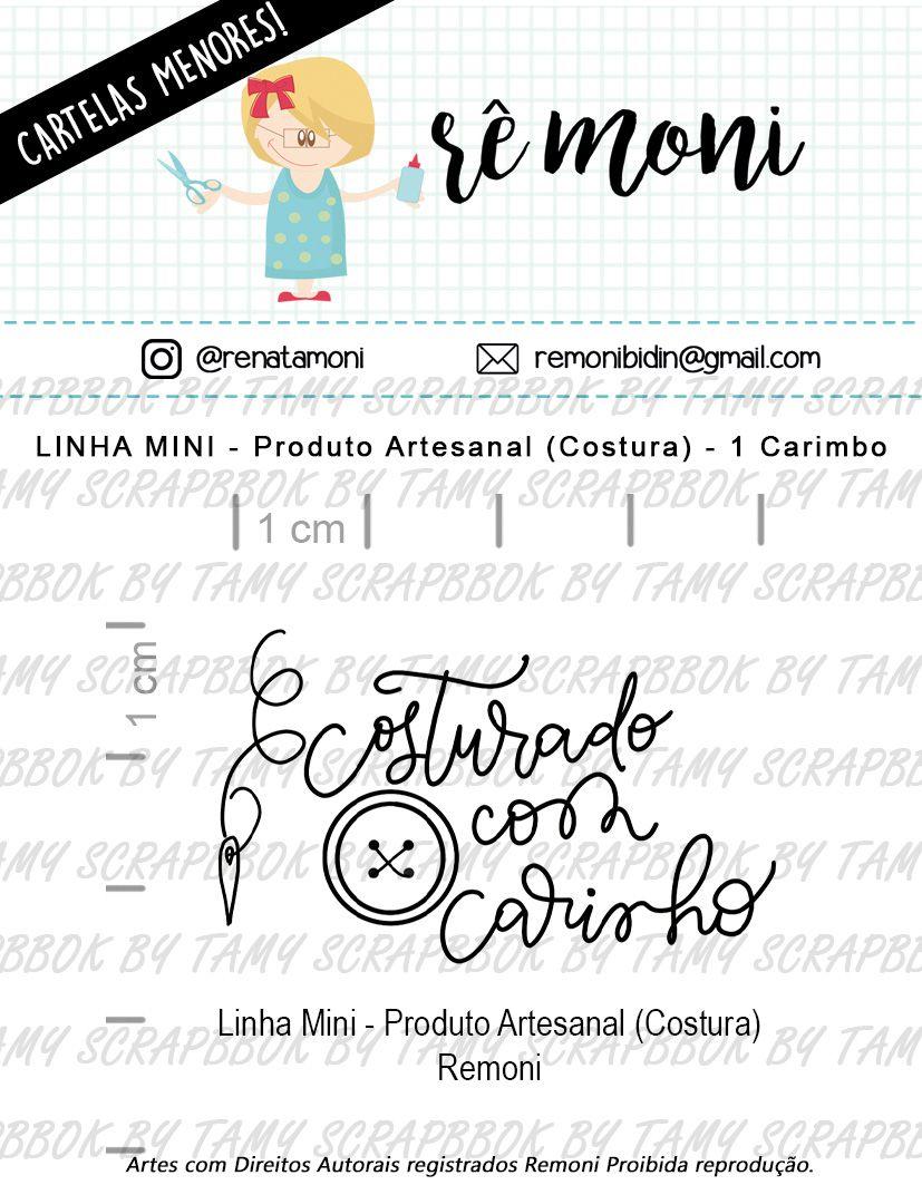 LINHA MINI - Produto Artesanal Costura (Remoni)