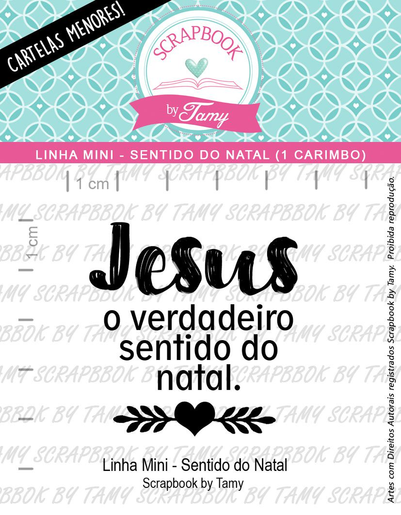 LINHA MINI - Sentido do Natal (Scrapbook by Tamy)