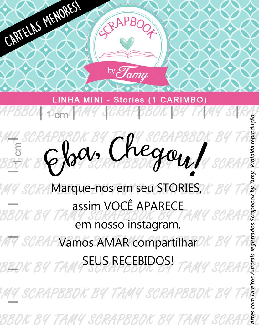 LINHA MINI - Stories (Scrapbook by Tamy)