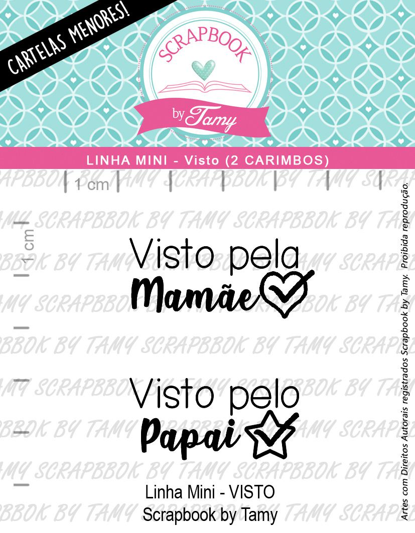 LINHA MINI - Visto (Scrapbook by Tamy)