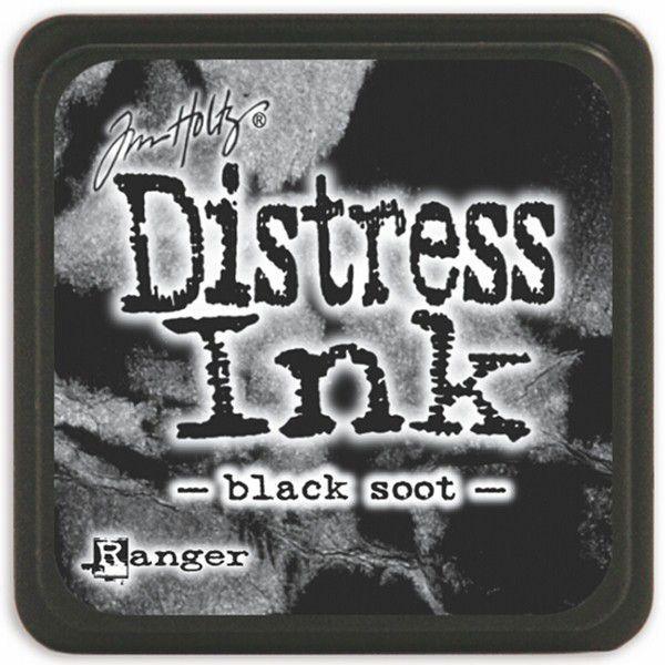 MINI DISTRESS INK - Black Soot