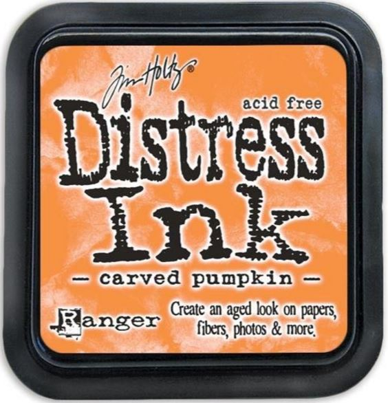 MINI DISTRESS INK - Carved Pumpkin