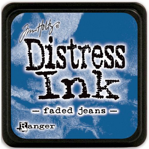 MINI DISTRESS INK - Faded Jeans