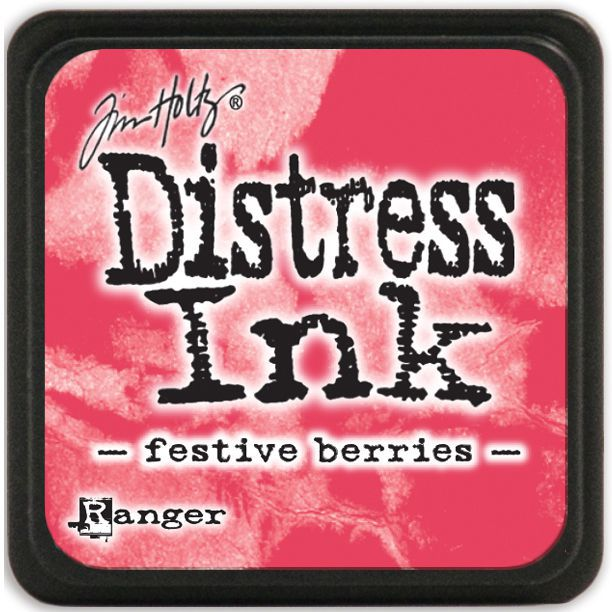 MINI DISTRESS INK - Festive Berries