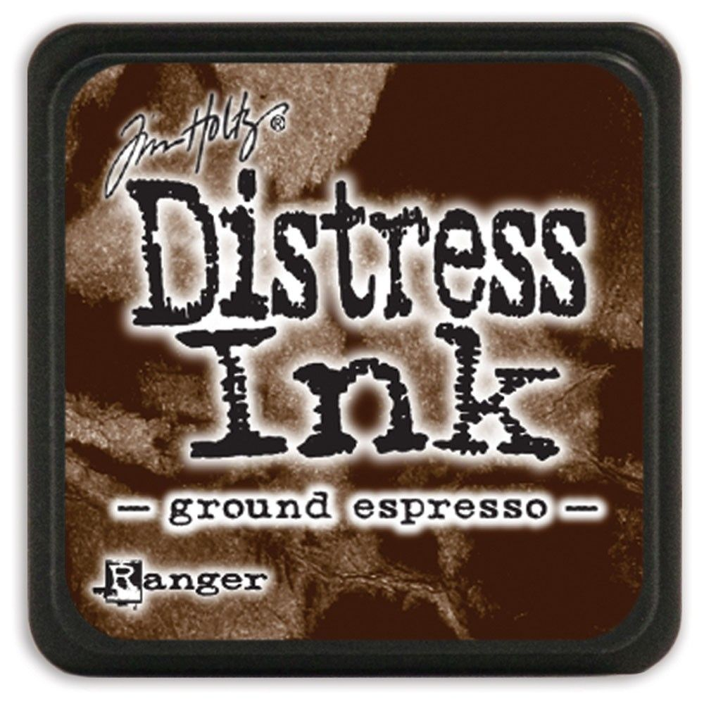 MINI DISTRESS INK - Ground Espresso