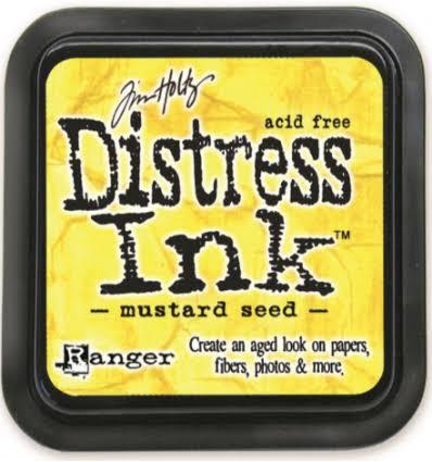 MINI DISTRESS INK - Mustard Seed