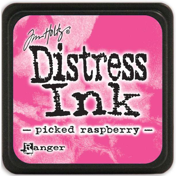 MINI DISTRESS INK - Picked Raspberry