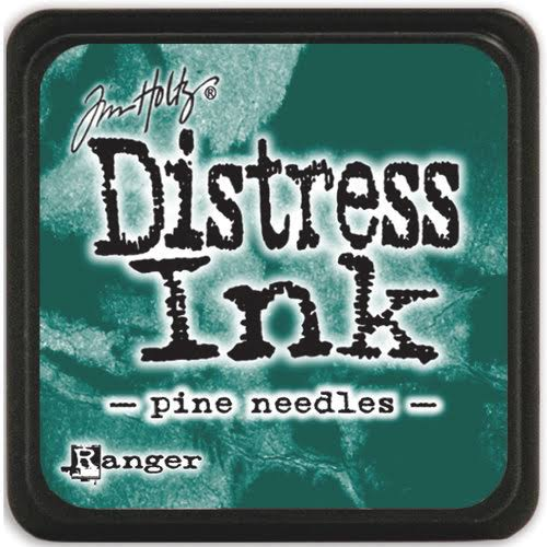 MINI DISTRESS INK - Pine Needles