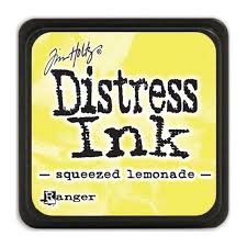 MINI DISTRESS INK - Squeezed Lemonade