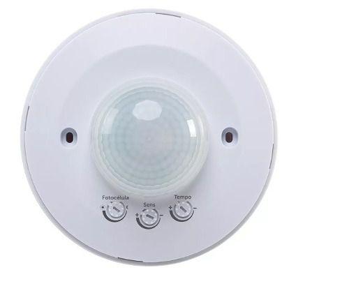 Sensor De Presença Para Teto Intelbrás Fotocélula Esp360 +