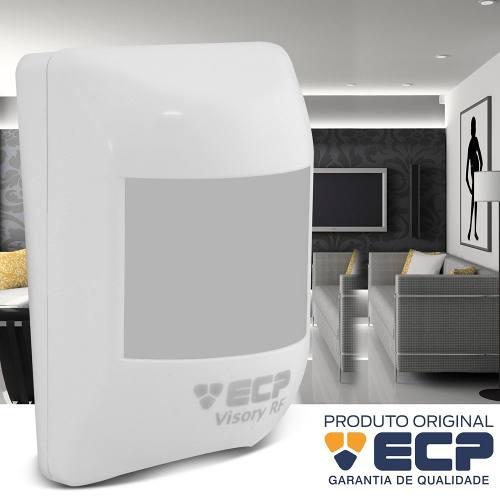 Sensor De Presença Visory Infra Vermelho S Fio Ecp + Bateria
