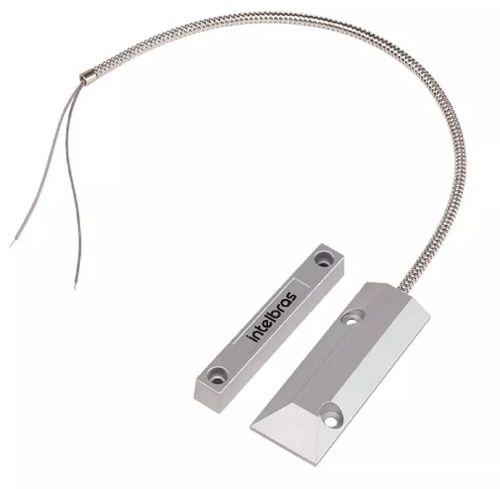 Sensor Magnetico Com Fio Xas Porta De Aco Intelbras