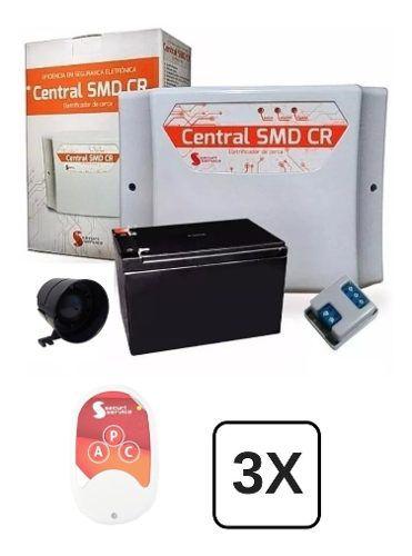 Central De Cerca Elétrica Gcp Bateria E 3 Controles