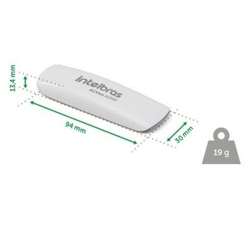 Adaptador Usb Wireless Intelbras Dual Band Action A1200 3.0