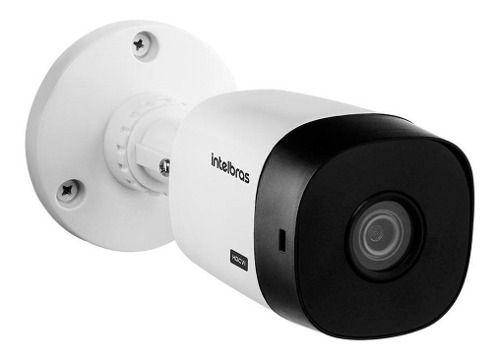 Kit Cftv 4 Câmeras Multi Hd 720p Dvr Intelbras Mhdx 1104