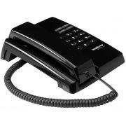 Aparelho Telefonico Com Fio Tc 50 Premium Preto Intelbras