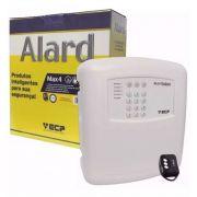 Central De Alarme Residencial Alard Max4 Ecp + 3 Controles