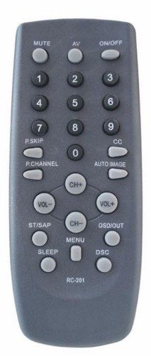 Controle Tv Cce Cyber Rc 210 Hps 2971 2991 3407 2985 Rc-210