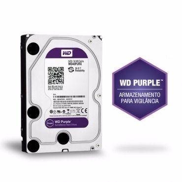 Dvr Intelbras Multi Hd Mhdx 1004 4 Canais e Hd 1tb Wd Purple