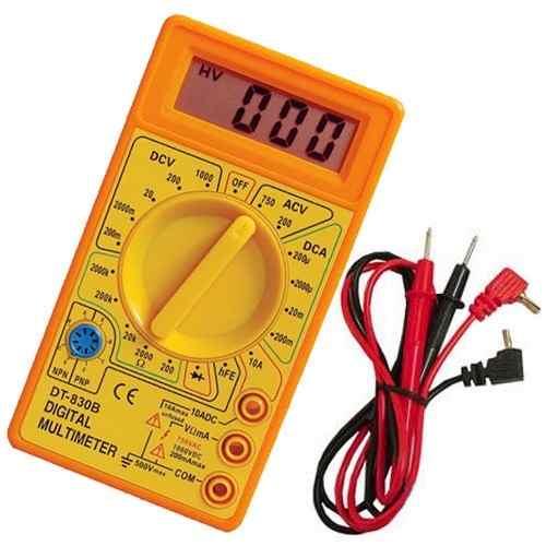 Multimetro Digital Dt830b Garantia Nfe Portatil Profissional