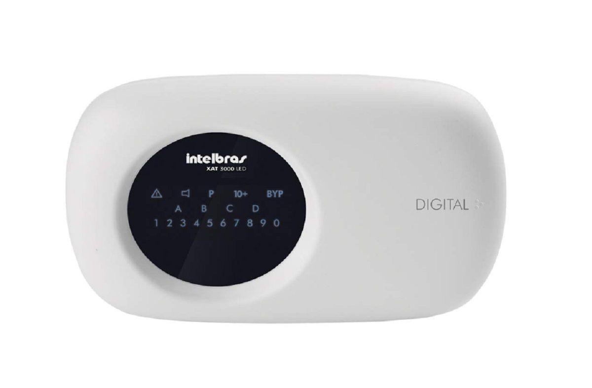 Central Alarme Intelbras Amt 2110 10 Zonas + Teclado Amt2110