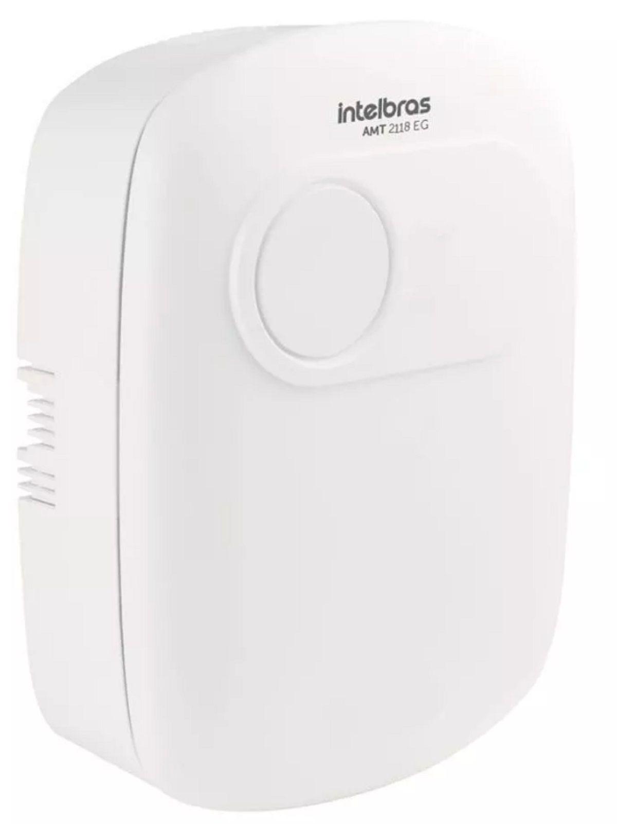 Central De Alarme Intelbras Amt 2118 Eg Monitorada Gsm Gprs