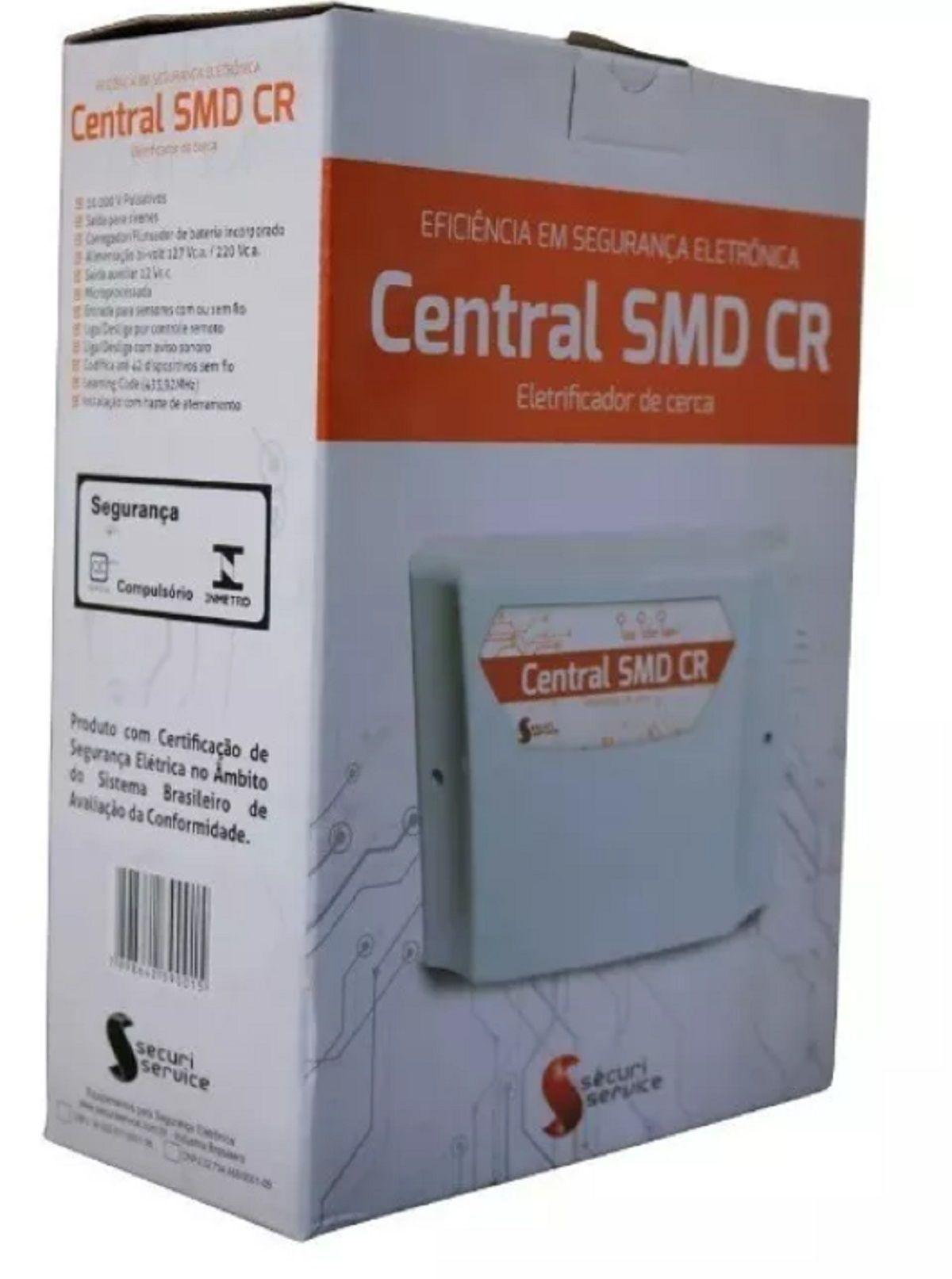 Central De Cerca Elétrica Gcp 2 Sirenes E 2 Controles