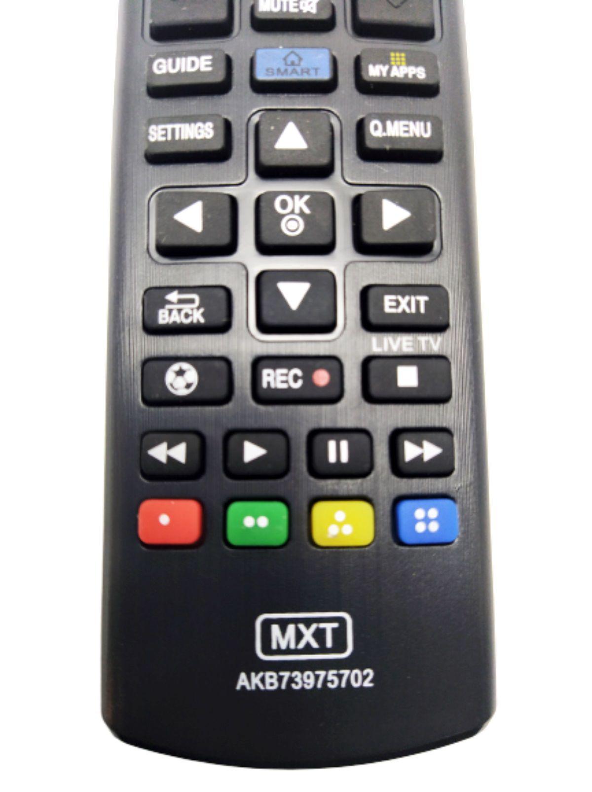 Controle Remoto Tv Lg Lcd Led Plasma Universal Lg