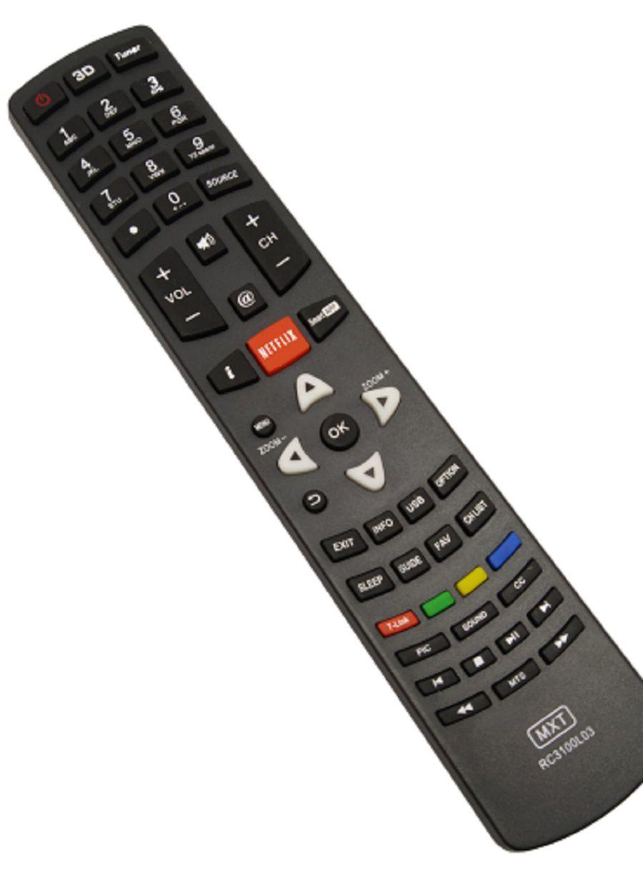 Controle Remoto Tv Philco Ph43m Ph46m Ph55m Ph58e Led Smart