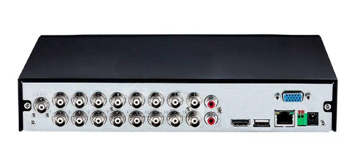 Dvr Intelbras 16 Canais 1116 Hdcvi 720p Tribrido