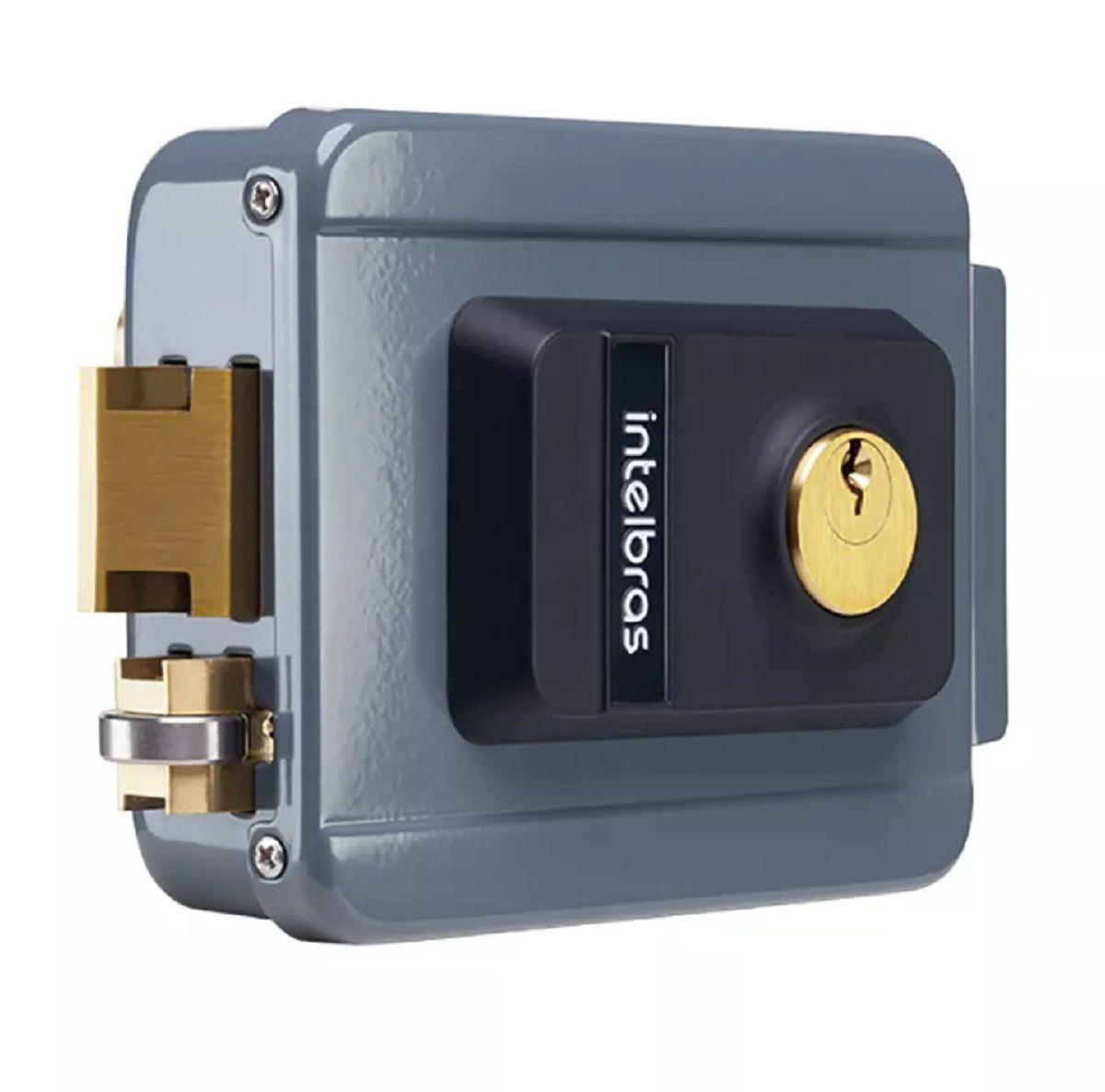 Fechadura Eletrica Intelbras Fx 2000 Para Portão Interfone