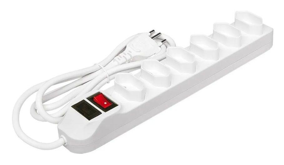 Filtro De Linha Regua Intelbras 6 Tomada Protetor Eletronico