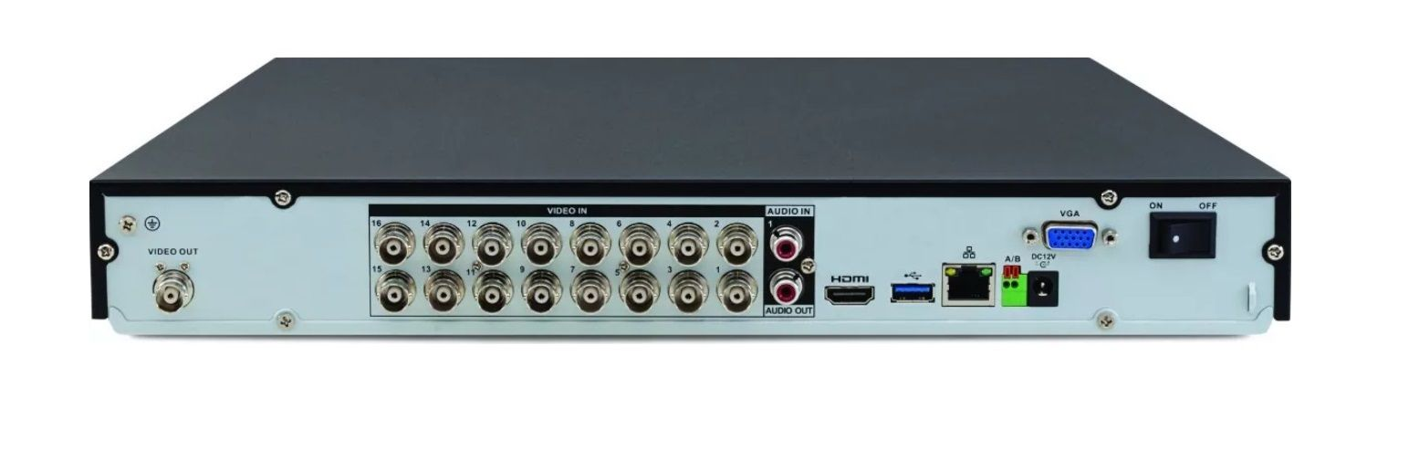 Gravador Dvr 16 Canais 4k Intelbras Mhdx 5216 4k Multi Hd