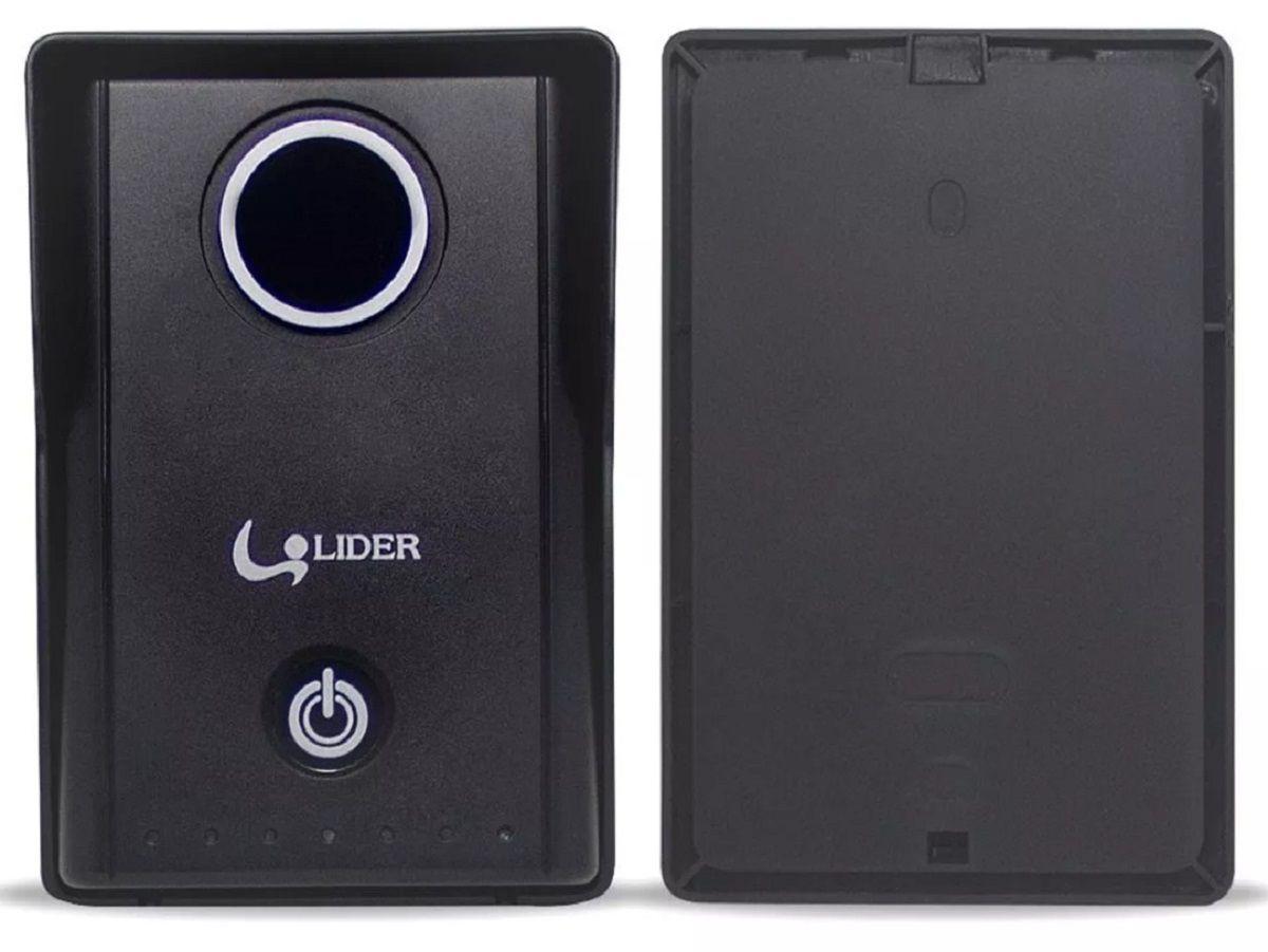 Interfone Porteiro Touch Screen Lr 580 Líder Com Extensão