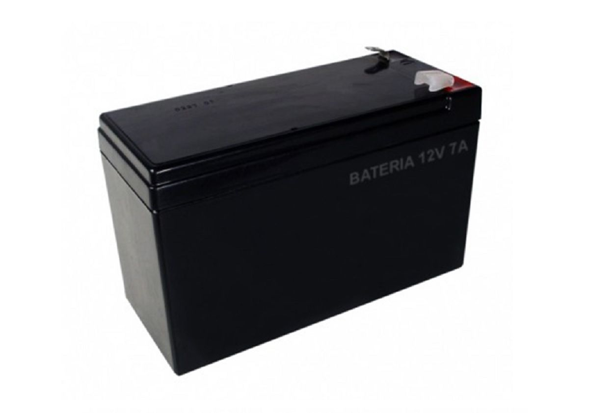 Kit Alarme Residencial Ecp Master 5 Sensores E Bateria