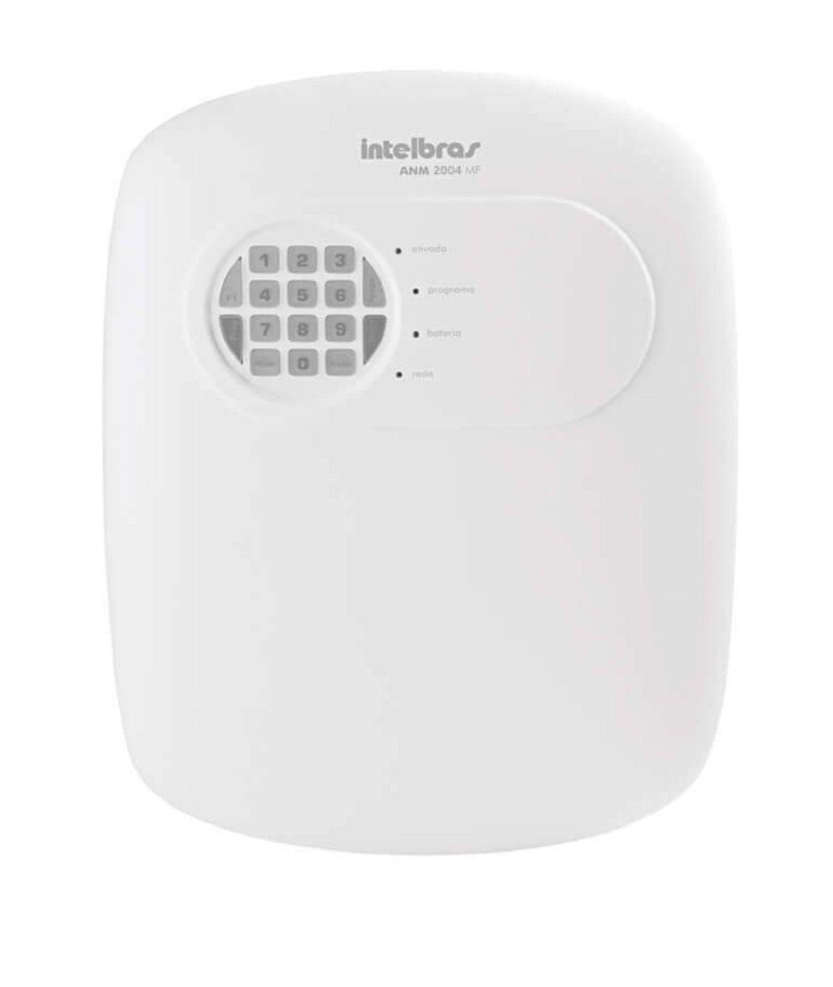 Kit Alarme Sem Fio Intelbras Casa Comercio 4 Sensores