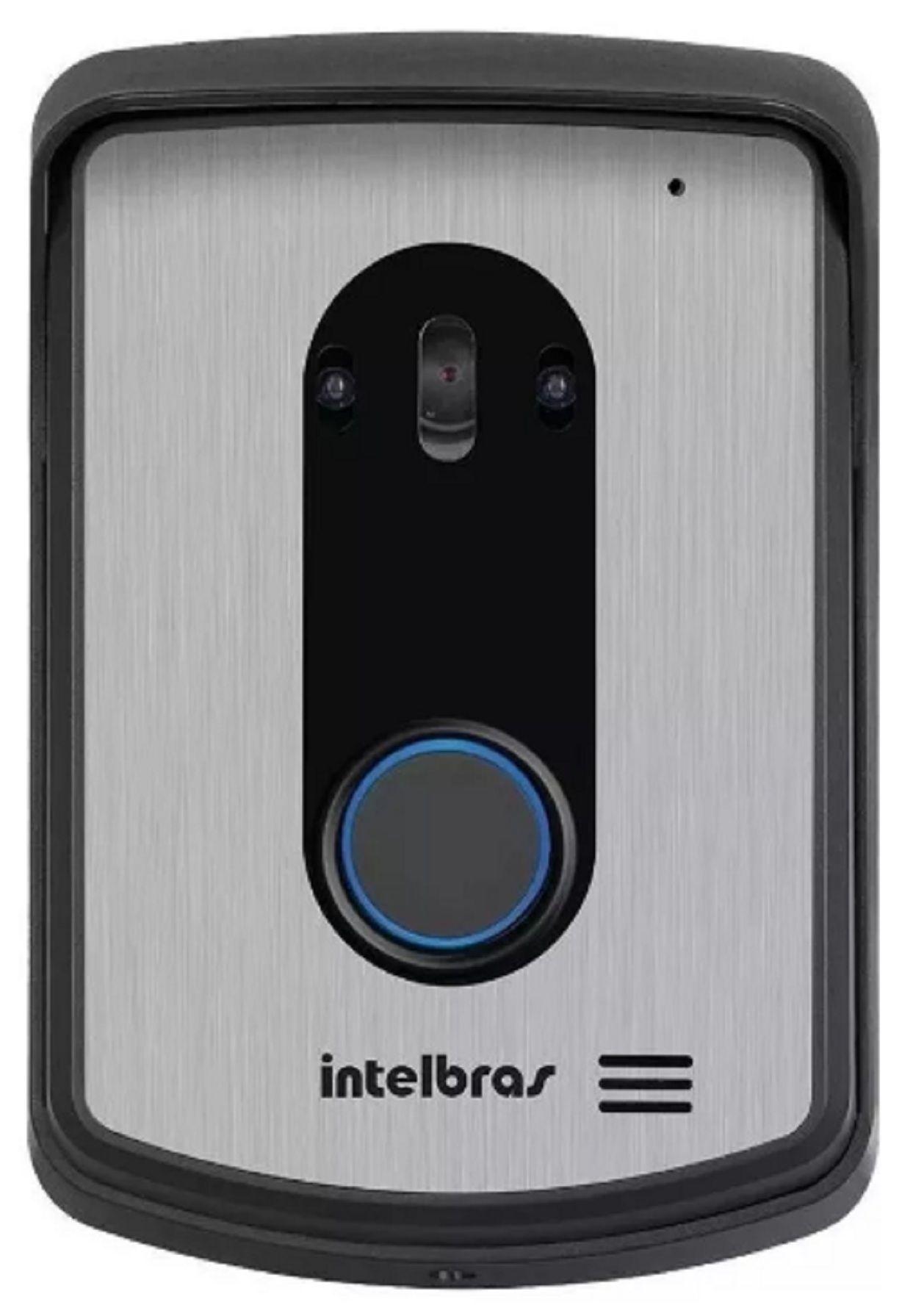 Kit Completo Vídeo Porteiro Intelbras Iv7010 03 Cameras
