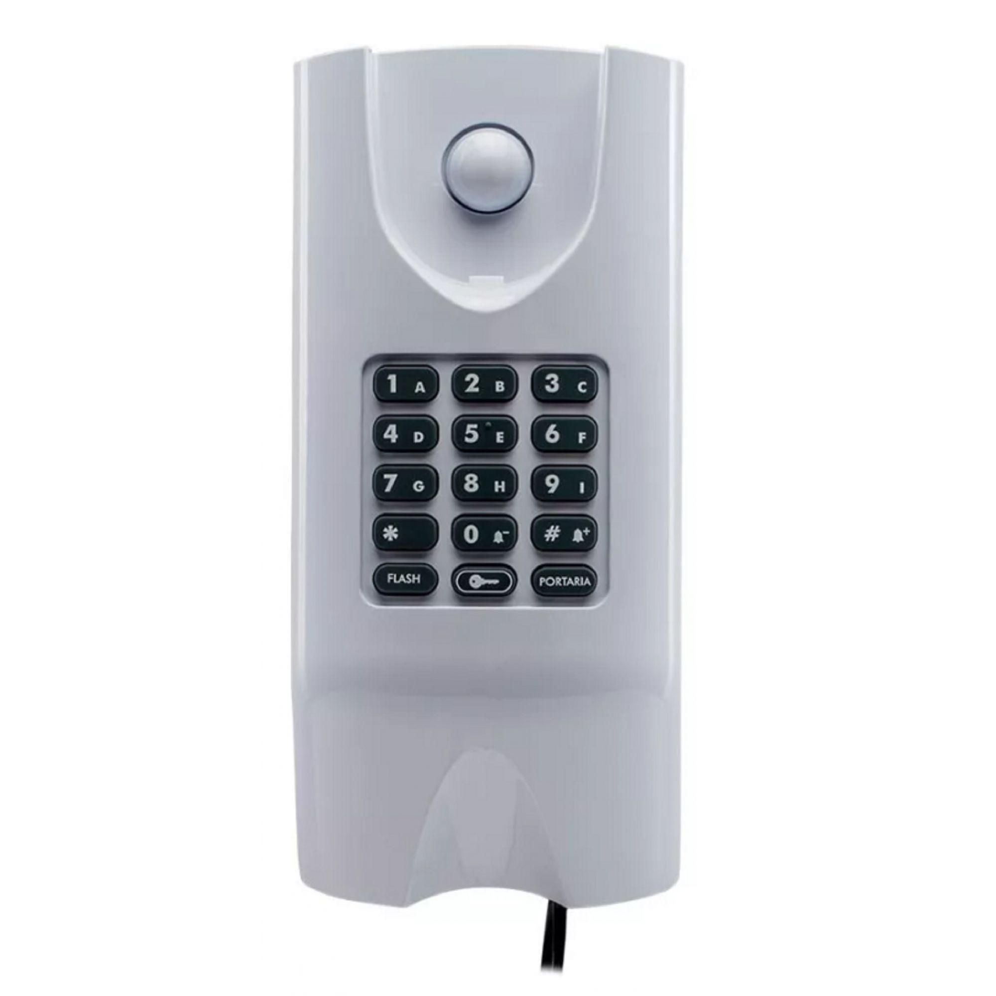 Kit Interfone Coletivo 03 Pontos E Central Comunic Intelbras