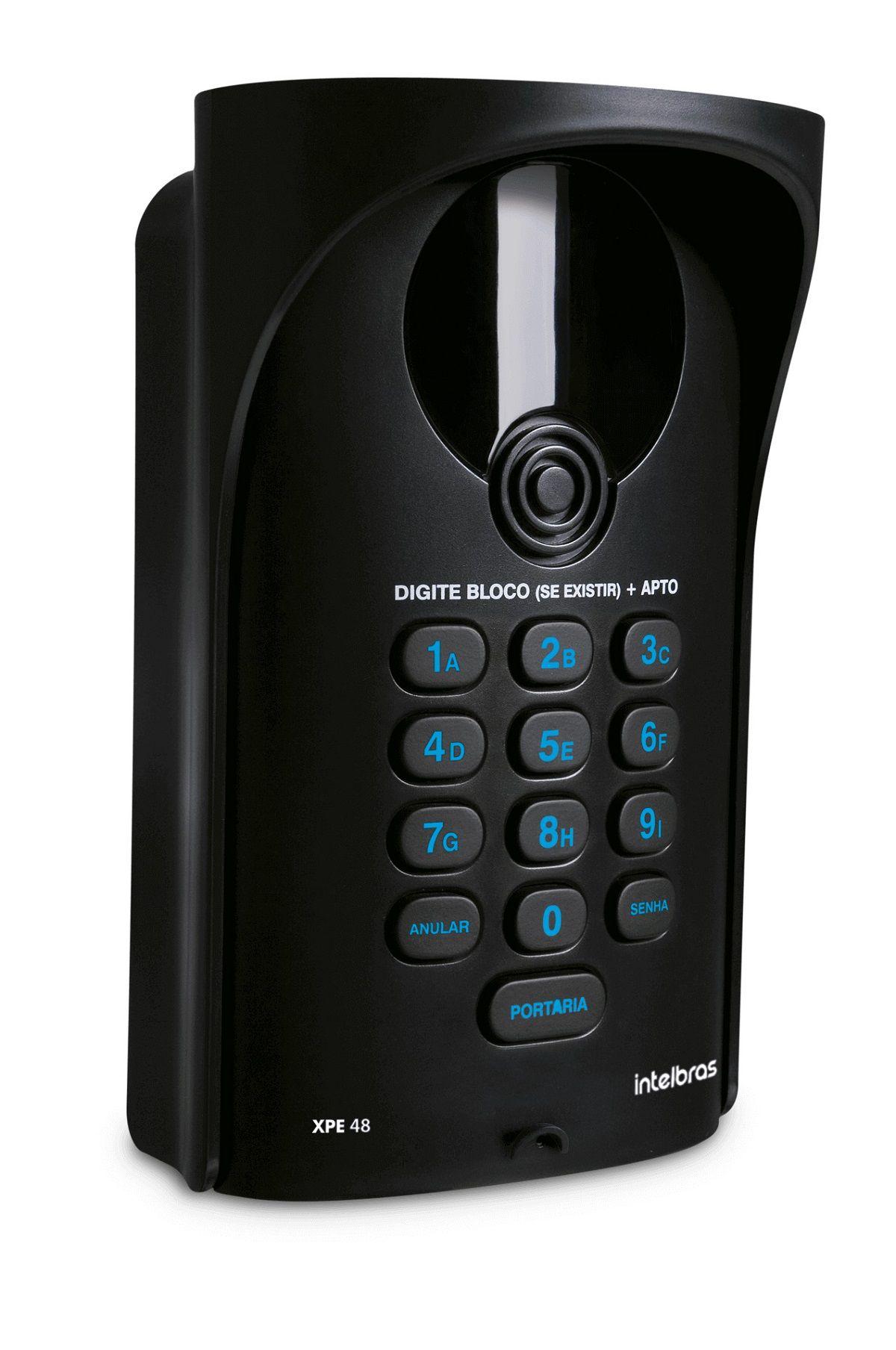 Kit Interfone Portaria Coletivo Comunic 14 Pontos Intelbras