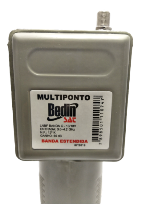 Kit Lnbf Multiponto Banda Extendida Divisor E Cabo
