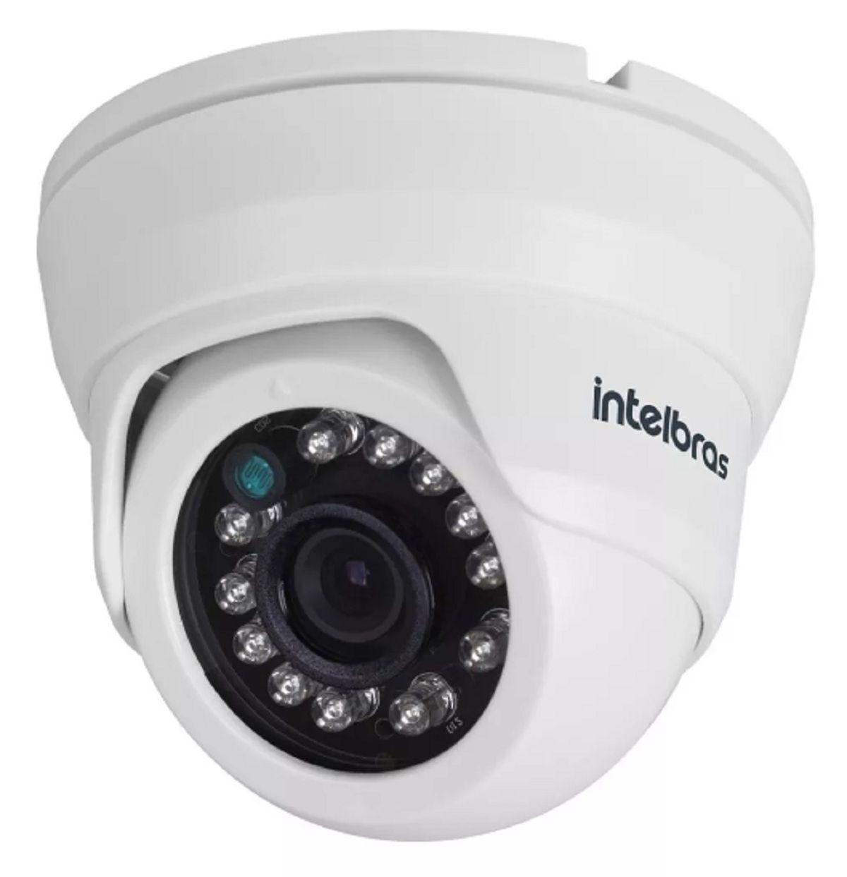 Kit Vídeo Porteiro Intelbras Iv7010 Com 4 Cameras Fechadura