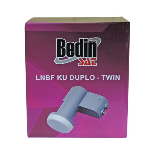 Lnbf Banda Ku Duplo Simples Universal Bedin Sat Offset