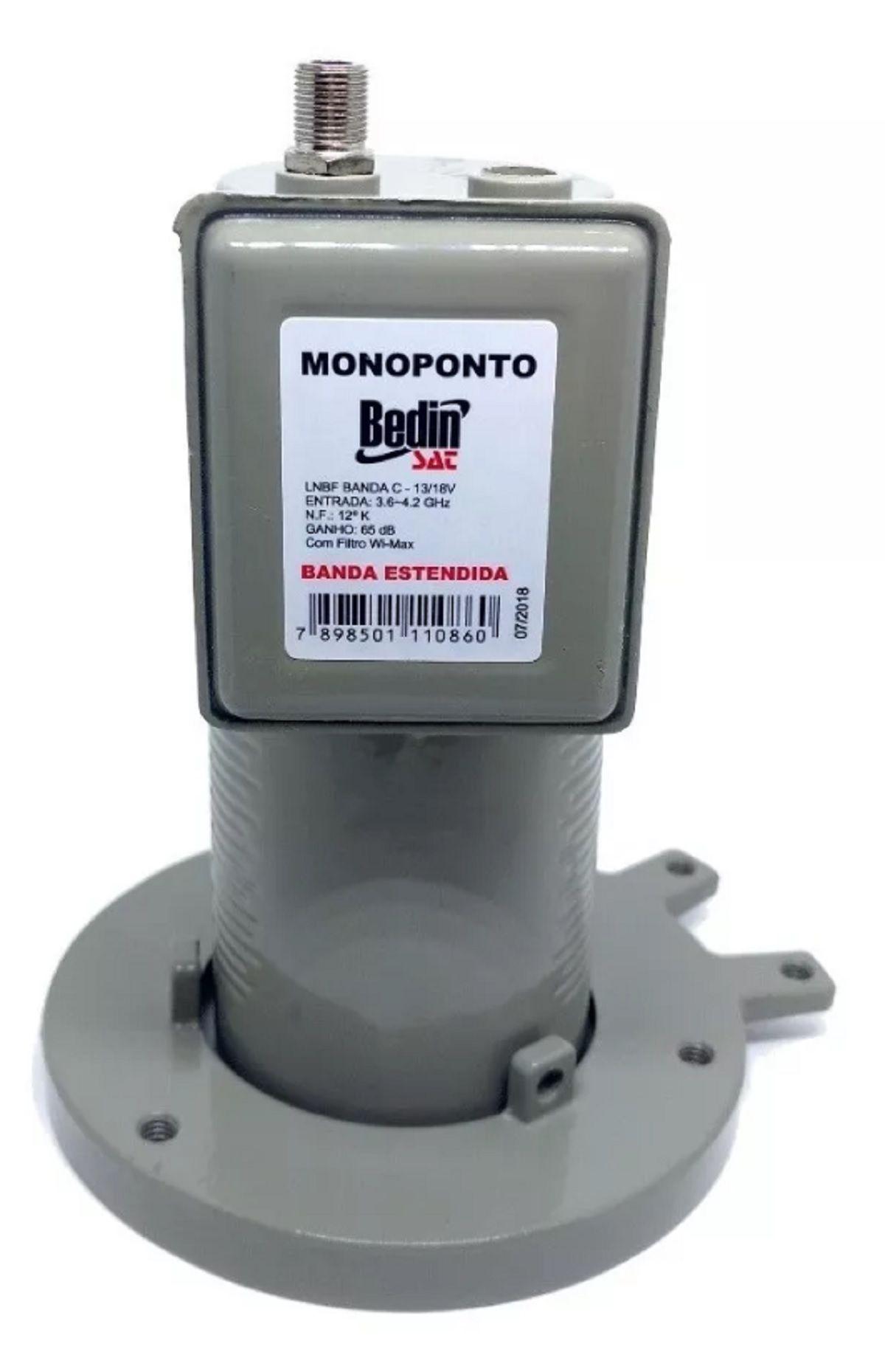 Lnbf Monoponto Para Antena Parabólica Via Satélite