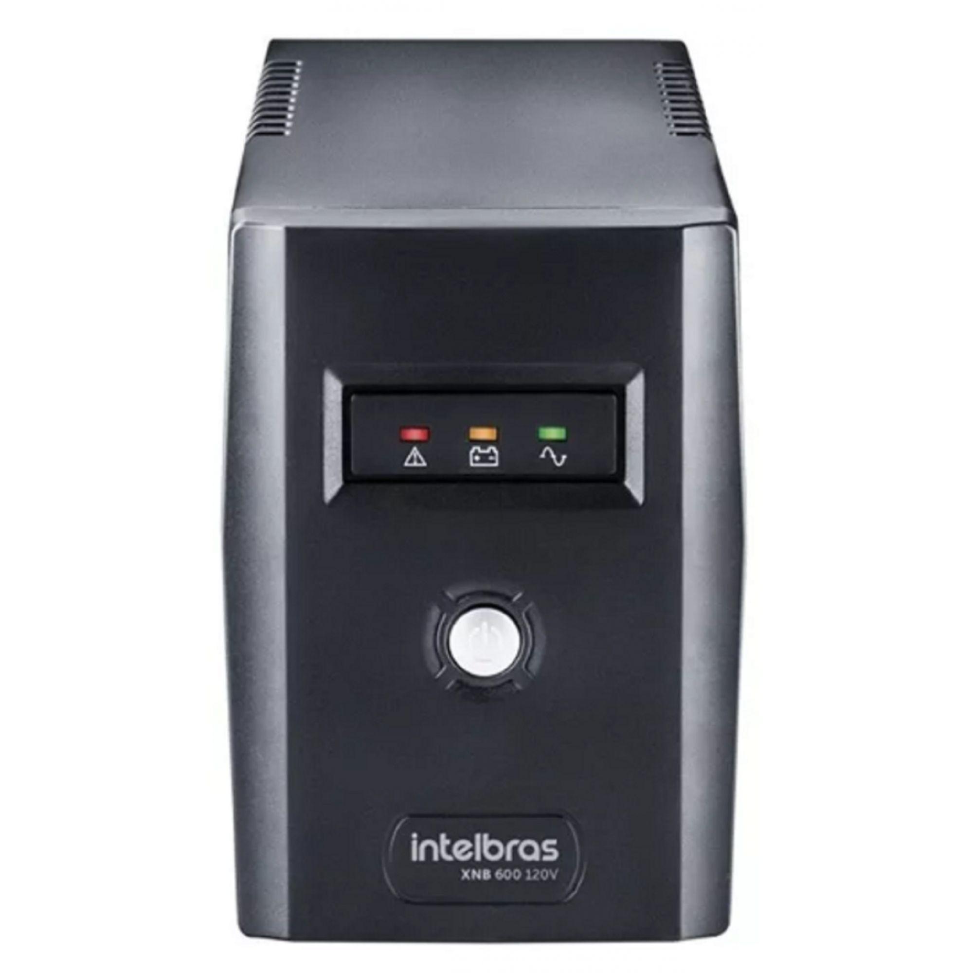 Nobreak Intelbras 600va Mono 127v Camera Vigilancia CFTV