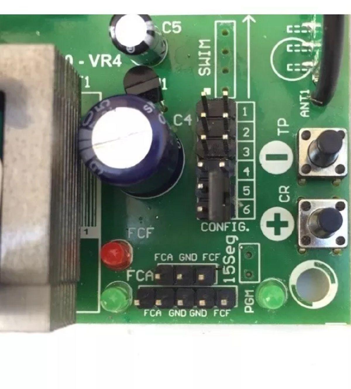 Placa Central De Motor Eletrônico Para Portão Rcg