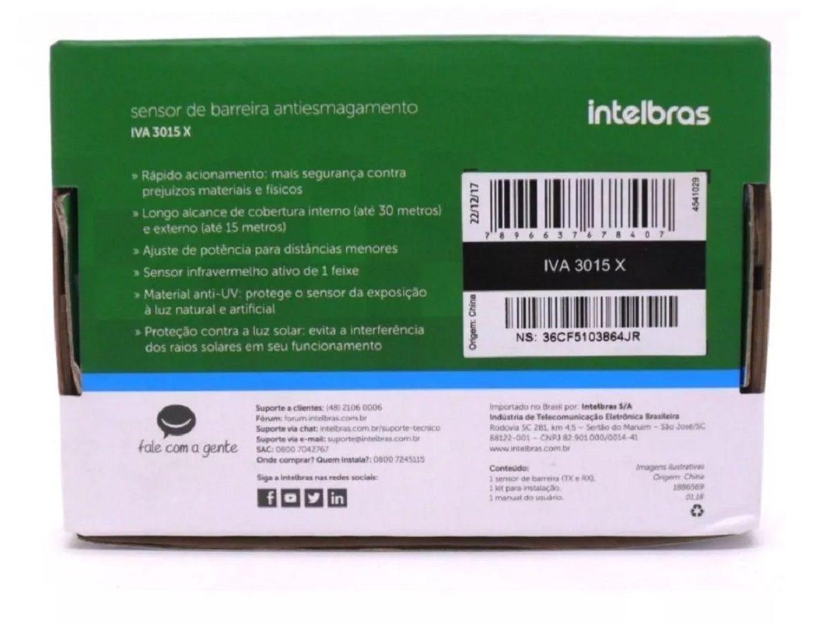 Sensor Antiesmagamento Iva 3015 X Intelbras
