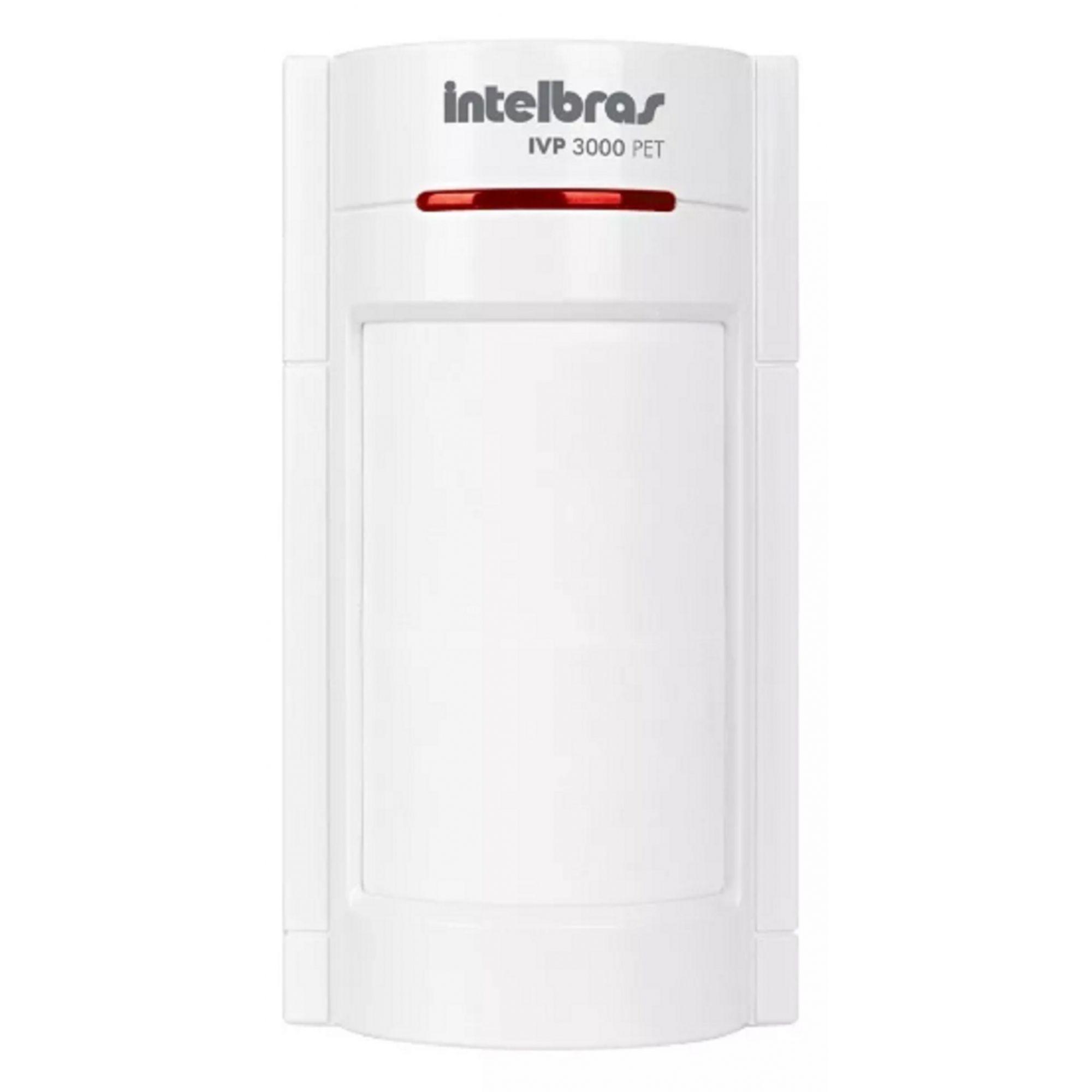 Sensor Infravermelho Ivp 3000 Pet 35kg Com Fio Intelbras